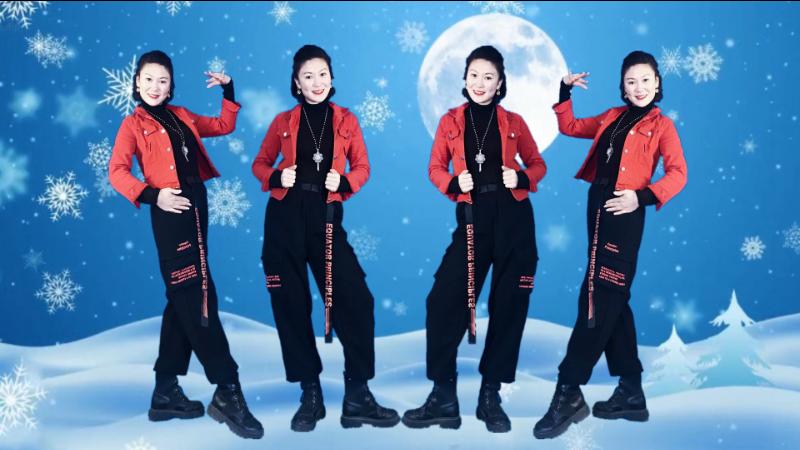 吴川飞燕广场舞望着最美的月亮等着最美的你-一夜爆红流行64步