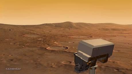 如果我们的火星探测器着陆后遇到了外星飞船,那会怎样?-《天文在线》