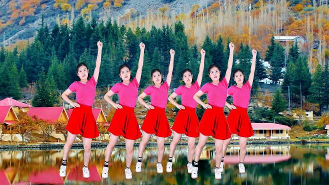 妙筠广场舞点歌的人-,美女时尚的舞姿,真是好看