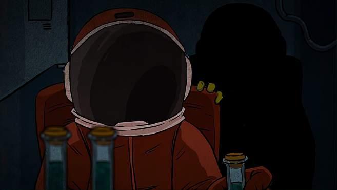 宇宙中的奇怪液体连宇航服都会被感染,和人融为一体变成怪物-《火火说电影》