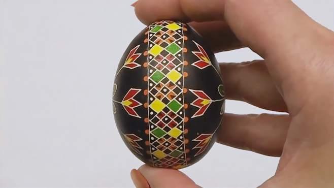 手工DIY,漂亮彩蛋的制作方法-《DIYS巧手制造》