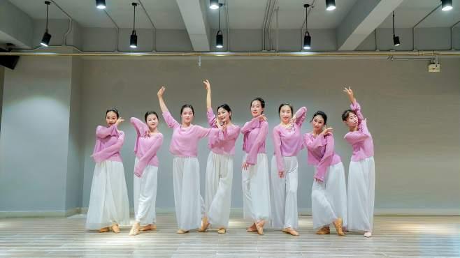 古典舞《爱的供养》,基础学员坚持上课 进步很大-《派澜舞蹈》