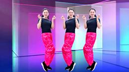信丰雨露广场舞爱我是你说的谎-原创健身舞附教学