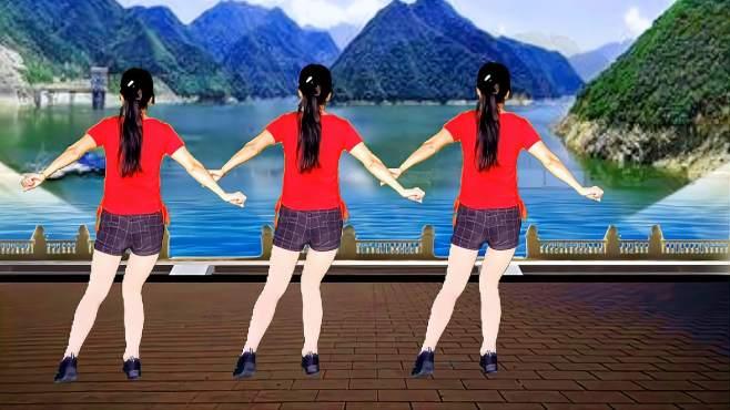 鸽子广场舞人的这一生-节奏轻快动感,舞步简单易学