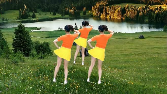 语兰广场舞多年以后-节奏欢快简单时尚