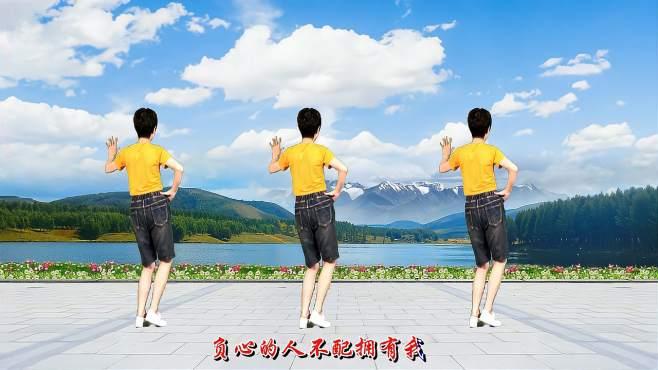 舞动朝阳广场舞爱情骗子请你离开我-背面完整版,附教学!