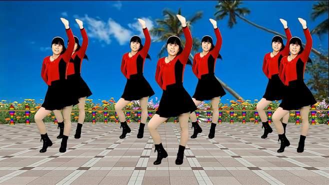 鸽子广场舞爱到最后就是痛-歌声悦耳动听,简单又好看