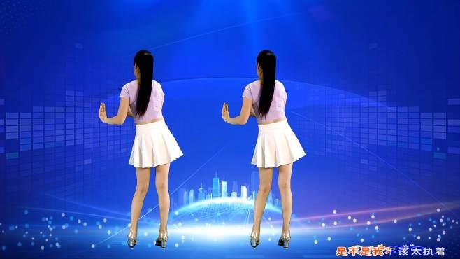 鹤塘紫儿广场舞爱情路上风雨多-背面演示