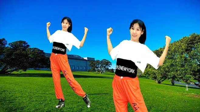 阿采广场舞夏季减肥操-高效燃脂,减全身赘肉