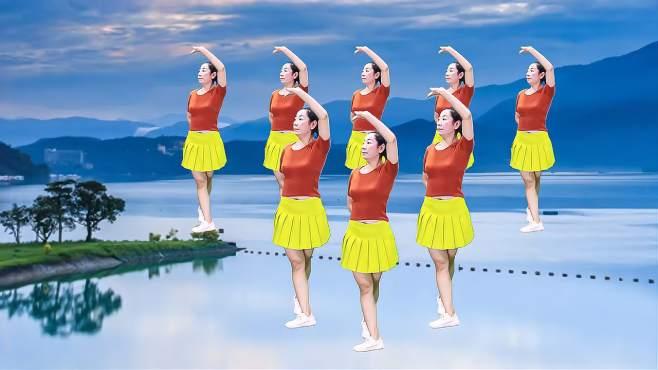 语兰广场舞站着等你三千年-每天坚持锻炼,减肥瘦身效果好