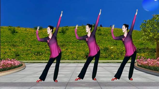 阿梅原创广场舞女人四十-歌甜舞更美
