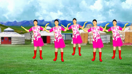 高安迷采广场舞唐古拉风暴-活力健身,动感欢快跳起来真好看