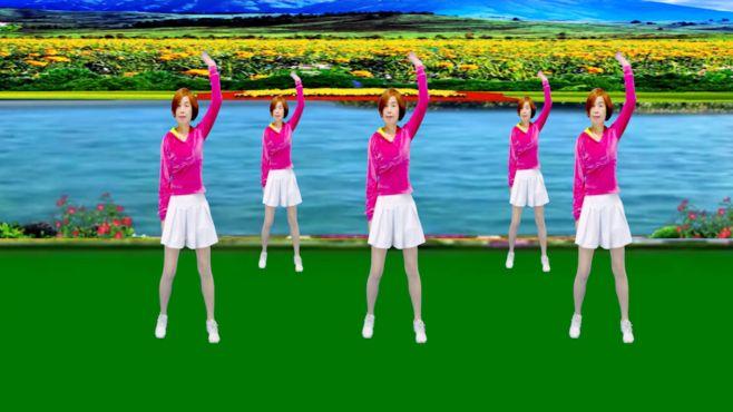 广州红色枫叶广场舞可可托海的牧羊人-音乐好听舞蹈