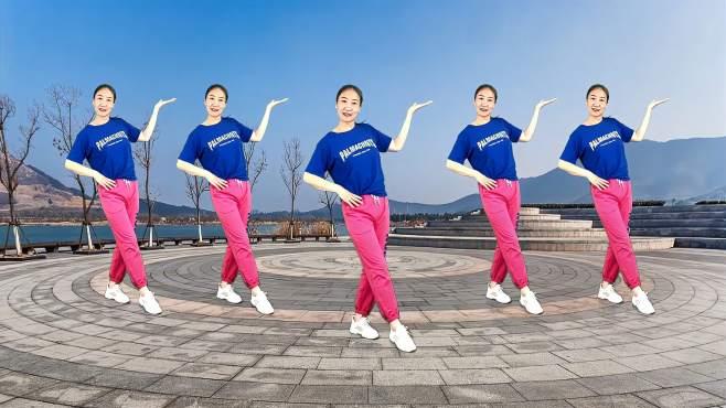 安庆红娘子广场舞谁家的姑娘这么美-何时能和你来相会红尘中走一回