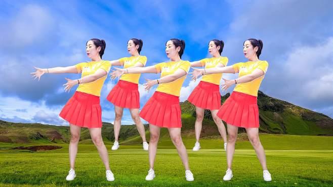 晨曦广场舞听心-优雅动感的舞姿俏皮可爱