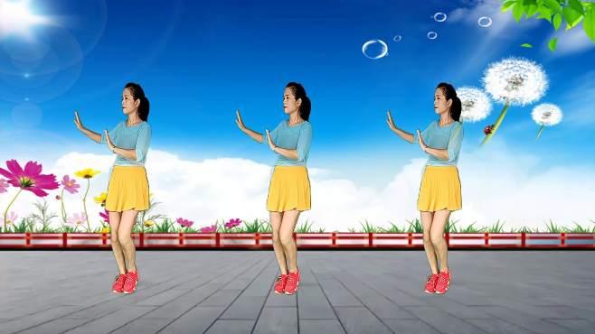 玫瑰怡林广场舞花越美越想你-心醉动听,欢快舞步