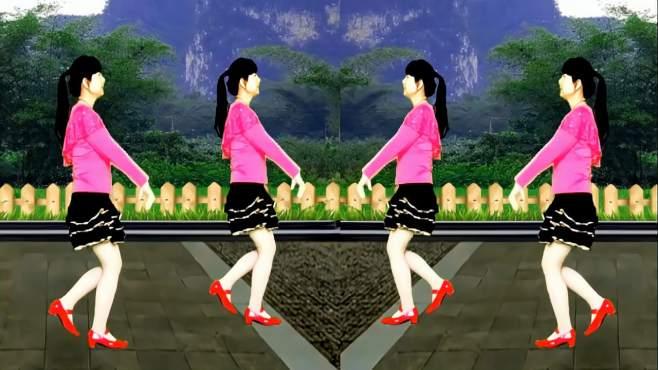 鸽子广场舞你是我最美的相遇-歌曲感人,舞蹈好看又好学