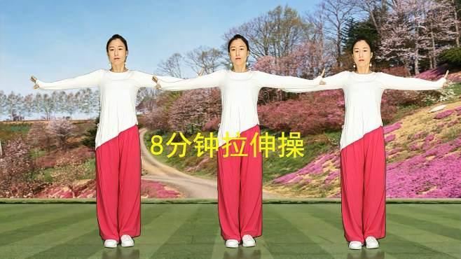 十里清清广场舞映山红-夏日跟我练,零基础健身操