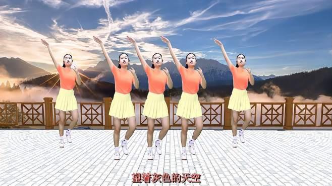 妙筠广场舞你是我永远的痛-小姐姐舞姿优美