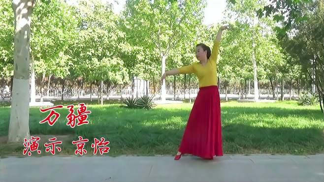 怡薇广场舞万疆-优美大气,简单漂亮
