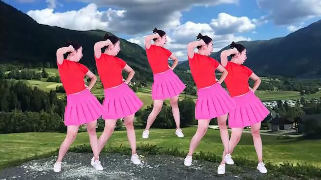 蔷薇广场舞最美的情缘-旋律动感酷炫舞姿