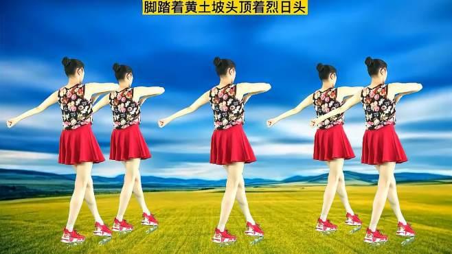 妃子红广场舞山沟沟肚兜兜-歌曲动感好听,附舞蹈教学