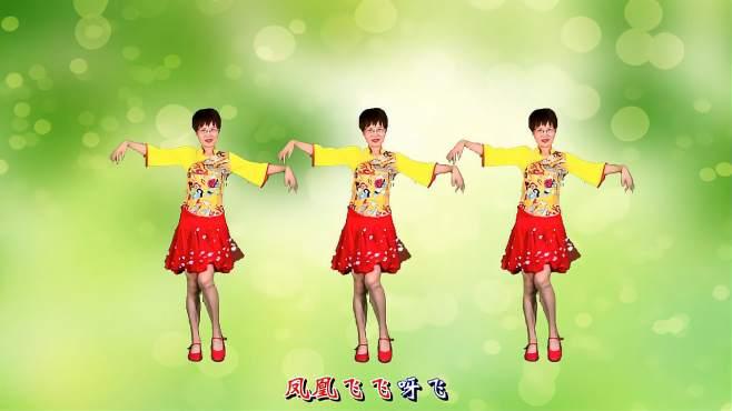 舞动朝阳广场舞凤凰飞-舞姿大气迷人,越看越喜欢!
