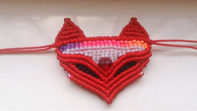 中国结饰品,可可爱爱时尚小狐狸锁骨链手工教程,快来学吧(一)-《FAR手工》