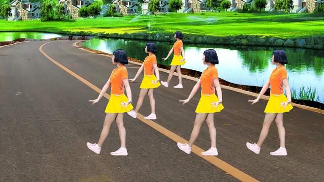 尤连广场舞天美地美中国美-每天锻炼减脂减压