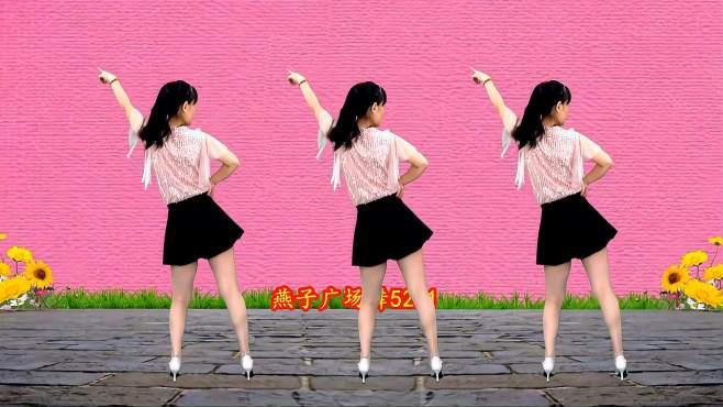 5211燕子广场舞魔性踩点舞-快乐的舞步,老少皆宜