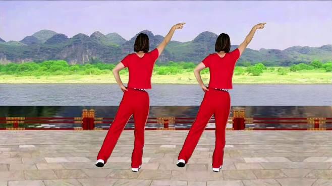 山东秋香广场舞爱到永远那一天-
