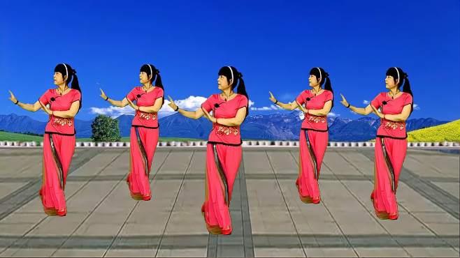 鸽子广场舞一首想家的歌-歌声优美动听,简单好看又好学