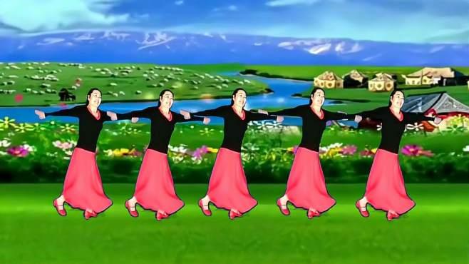 春晖广场舞献给亲人金珠玛-索呀啦索!