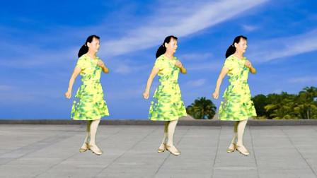 高安迷采广场舞爱的暴风雨-歌醉舞美,魅力恰恰,魔性歌声风情万种