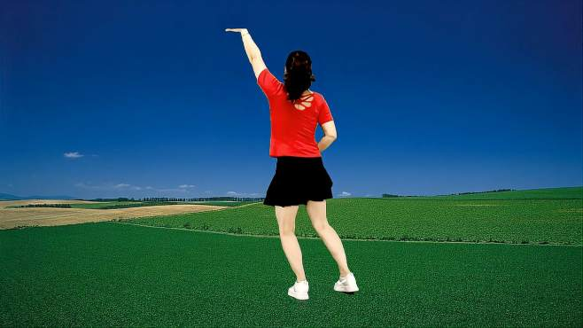 飞魅广场舞究竟是为什么-对我如此冷漠,32步背面活力弹跳