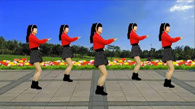 鸽子广场舞思念情缘-歌声甜美动听,简单好看又好学