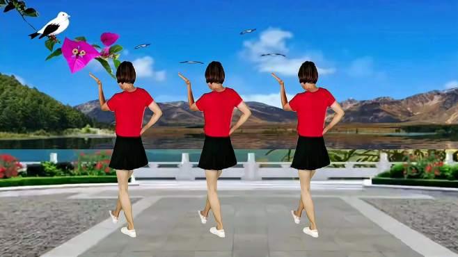 山东秋香广场舞谁家的姑娘这么美-好听好看的32步