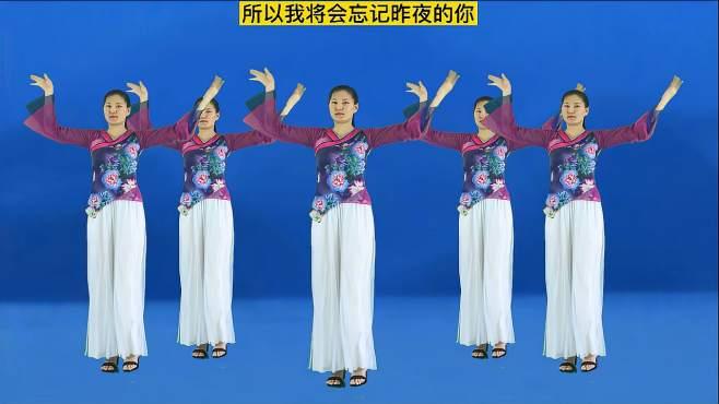 妃子红广场舞潇洒的走-优美的舞姿动听的旋律