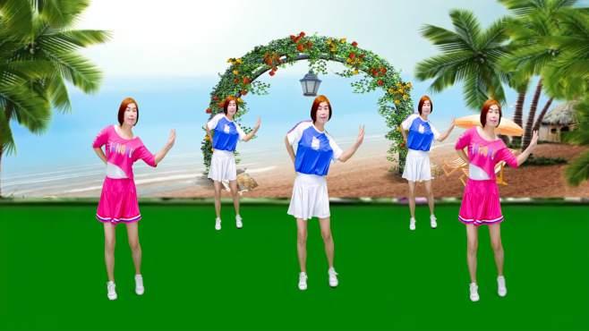 广州红色枫叶广场舞思念情缘-音乐好听舞蹈看