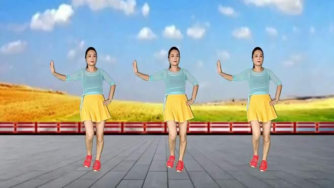 玫瑰怡林广场舞你是我的爱也是我的缘-甜蜜动听,醉人心扉
