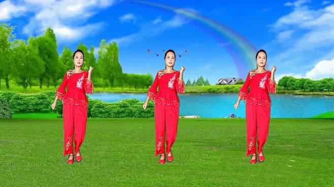 玫瑰怡林广场舞农民十三难-音乐好听,舞蹈欢快