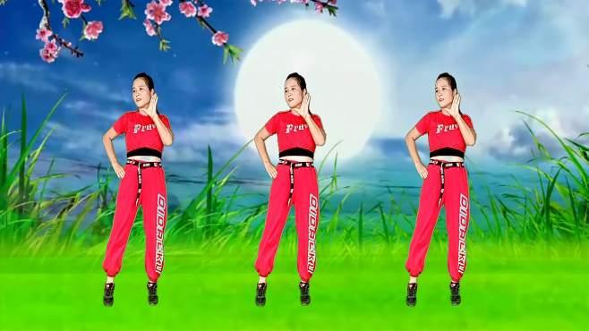 玫瑰怡林广场舞七夕的红月亮-32步,动感好看