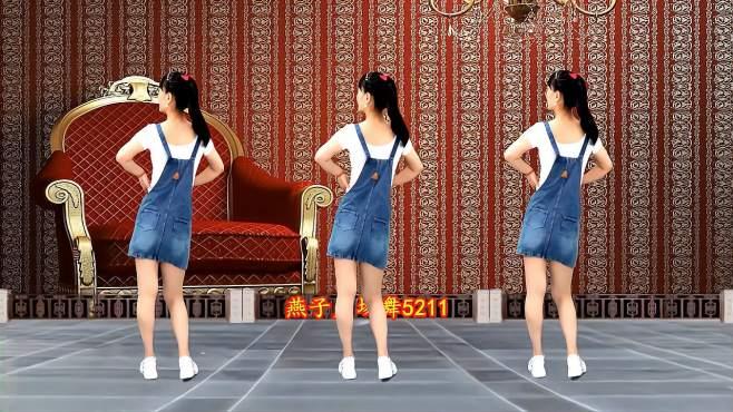 5211燕子广场舞想你不敢联系你-多少男女听到心碎