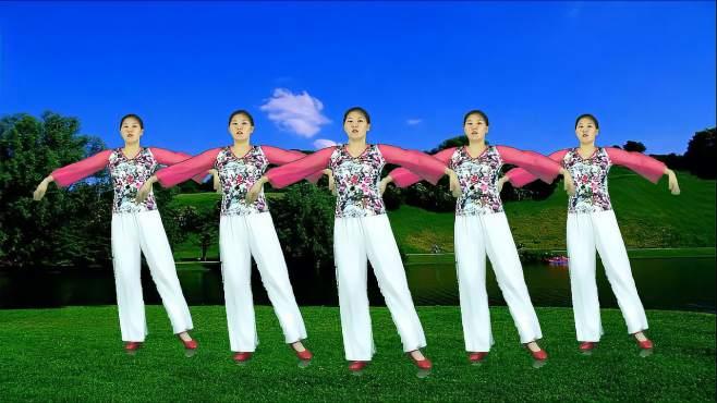 妃子红广场舞心爱的人啊你在哪里-舞曲好听,附上舞蹈教学