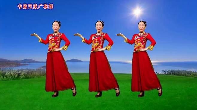 专属天使广场舞水乡情歌-男女深情对唱歌声如天籁之音