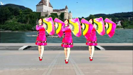 高安迷采广场舞女人天生就爱美-广场舞,甜蜜惹人醉,送给爱美女人