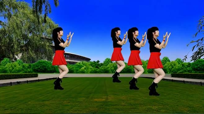 鸽子广场舞许你一世情缘-歌曲好听醉人,舞蹈好看好学