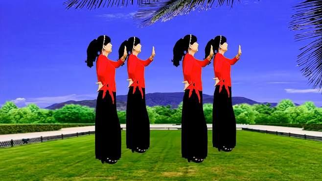 鸽子广场舞梦中的妈妈-唱出对妈妈的思念,感人好听
