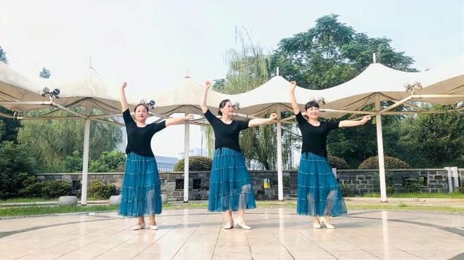 梦若浮萍之芜湖飞翔广场舞相伴在草原-芜湖新世纪广场舞蹈队姐妹花深情演绎