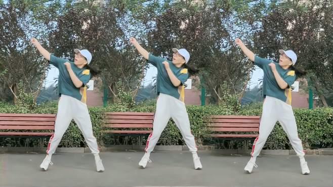 滨海多来米广场舞以为-正背面演示